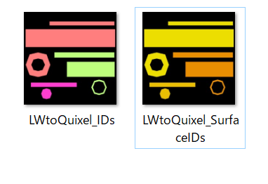LightwaveからカラーIDを出力してQuixel Ddoでテクスチャを作る(その1:カラーIDの出力まで)