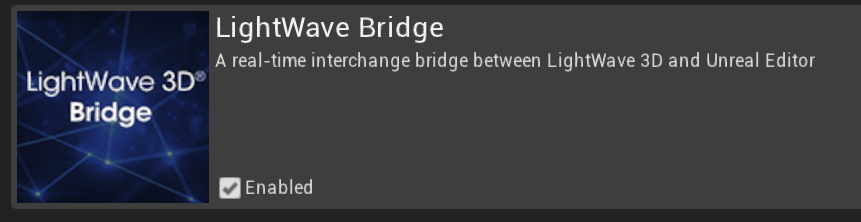 プラグイン「Unreal Bridge/アンリアルブリッジ」を使ったLightwave 2019とUnreal Engine 4の接続